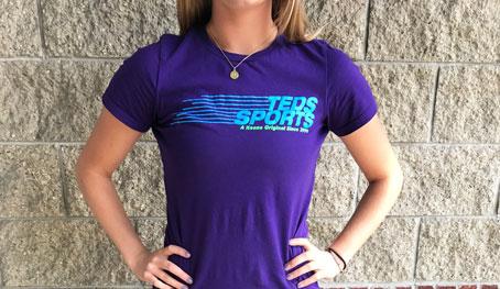 7a92825f Teds Sports Women's T-Shirt