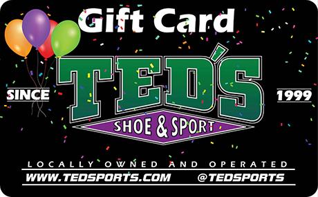 Birthday gift card teds shoe sport birthday gift card negle Choice Image