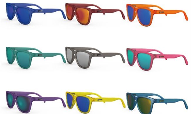 Cycling glasses in every shape and color are available at Bicycle World NY.